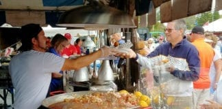 Cortez Commercial Fishing Festival food