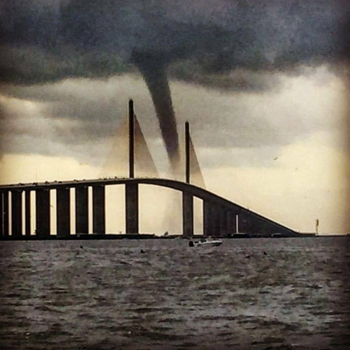 Twister at Sunshine Skyway