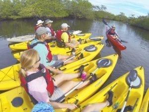 Kayakers at Robinson Preserve