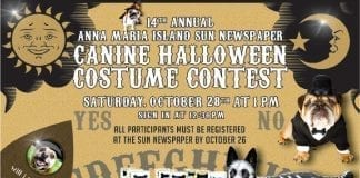Canine costume contest