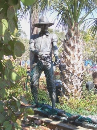 Cortez fishermen's memorial - Cindy Lane | Sun