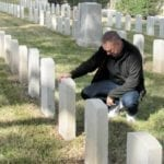 Rob Whitehurst at St. Augustine National Cemetery