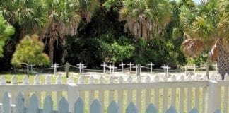Egmont Key cemetery