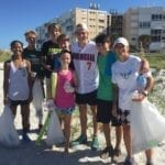 Fourth of July beach cleanup
