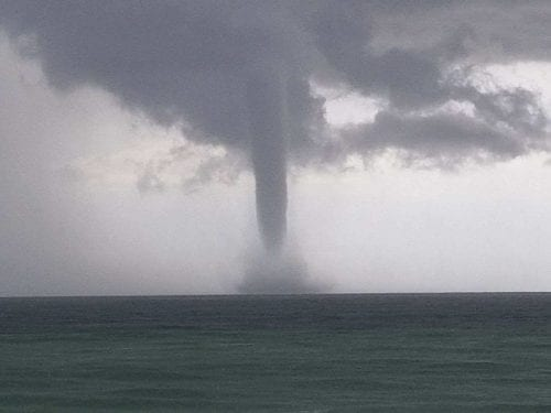 Waterspout Off Ami Ami Sun