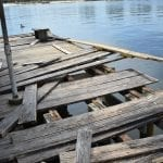 Anna Maria City Pier post-Irma