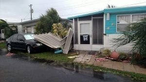 Pines Trailer Park post Irma
