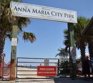 Anna Maria Pier plan