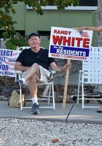 Elections White Wins