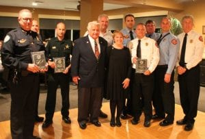 Rotary Club First Responders award