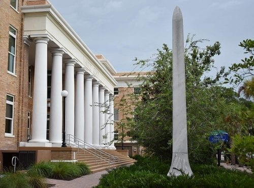 Confederate Monument and Courthouse