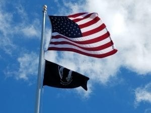 Flag at Veterans Park, Bradenton