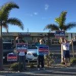 Holmes Beach election waving