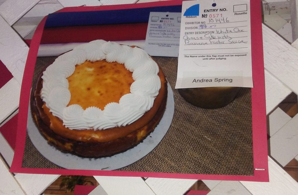 Andrea Spring cheesecake