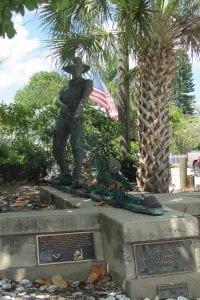 Cortez fishermen's memorial