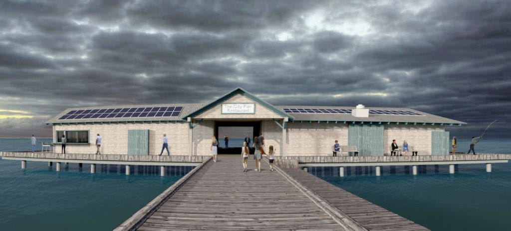Anna Maria Pier rendering front