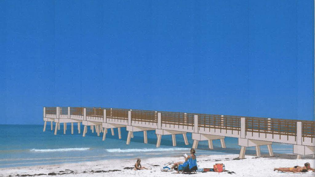 holmes beach manatee pier short