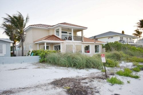 Anna Maria Beach Dispute House