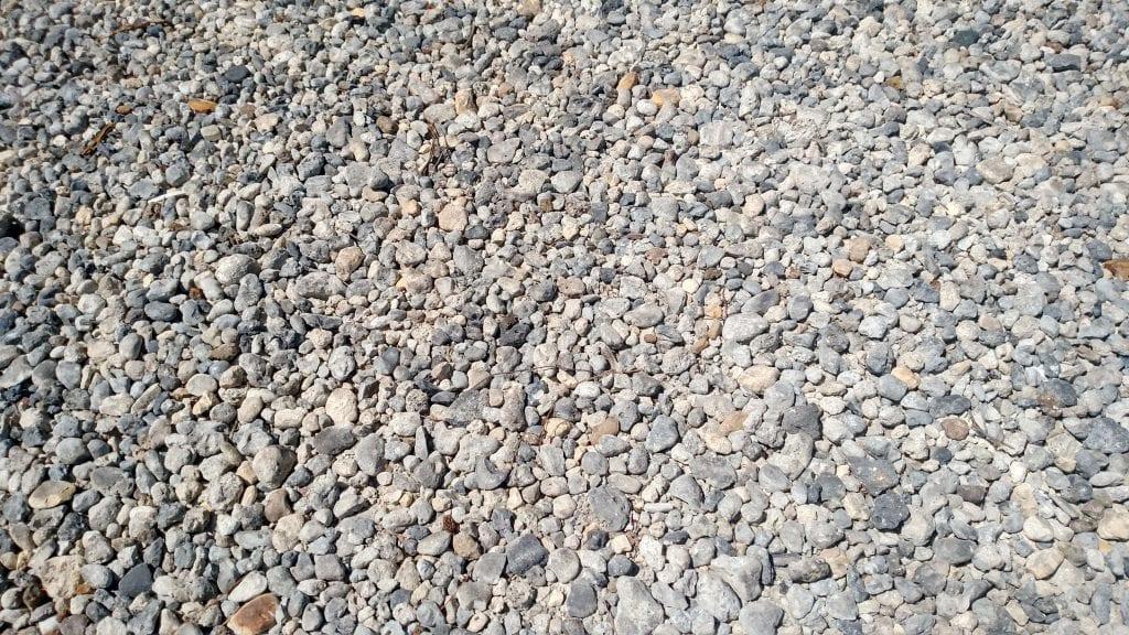 Concrete aggregate 57 stone
