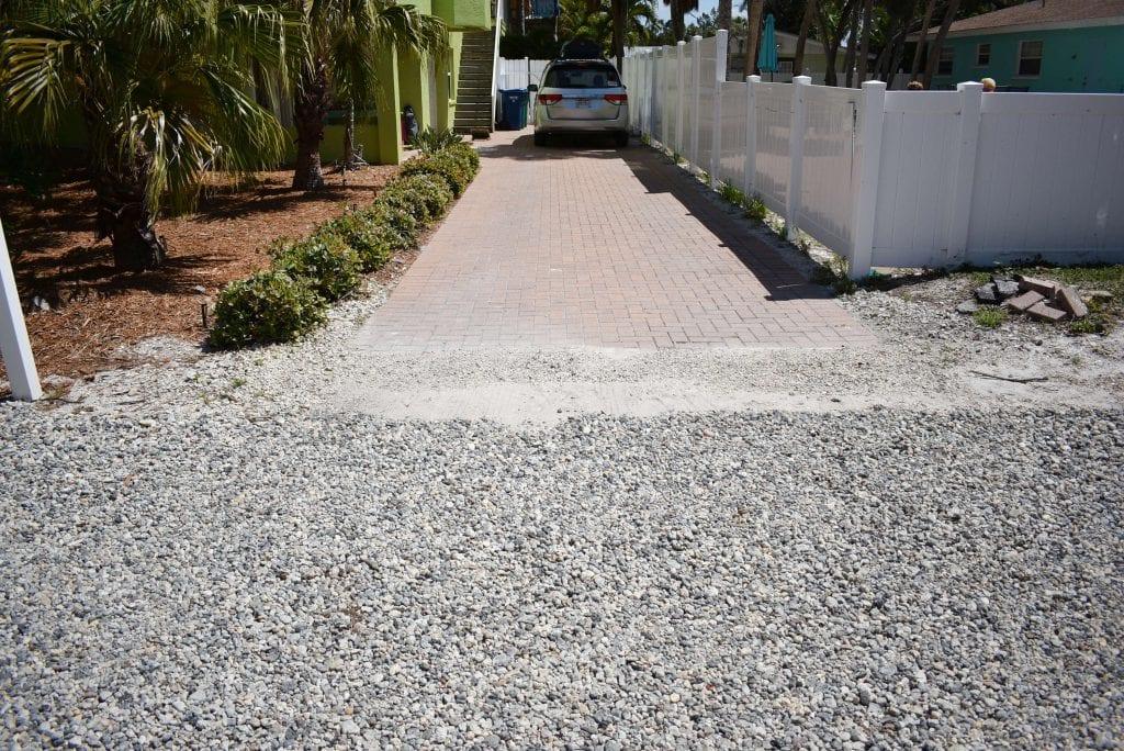 57 stone driveway