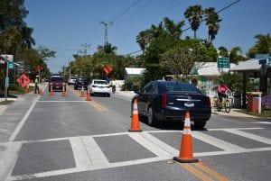 force main gulf drive crosswalk