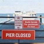 Anna Maria City Pier demolition