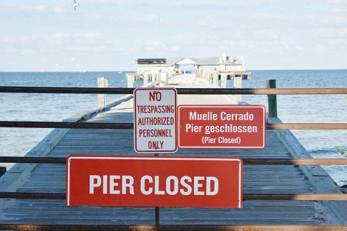 Anna Maria City Pier demolition