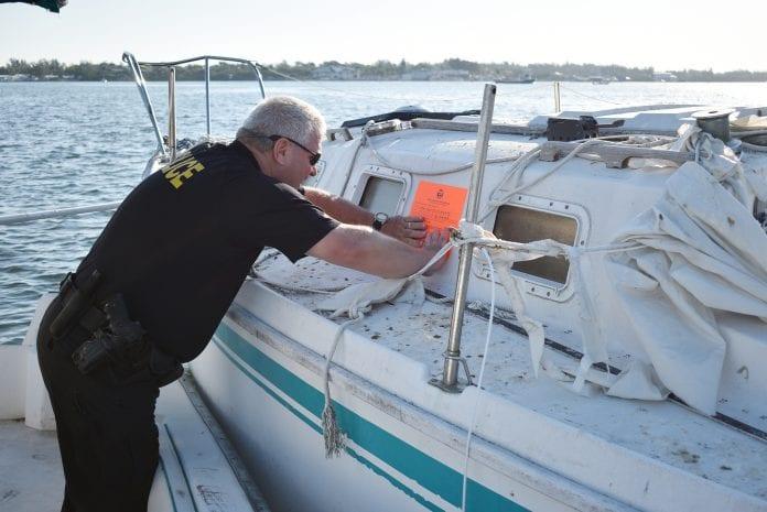 Bradenton Beach boats tagged