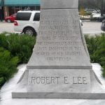 Confederate monument debated