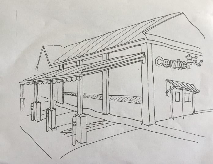 Center board update awning