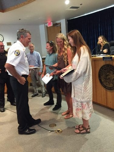 Holmes Beach Surf Shop fire award West Manatee Fire Rescue