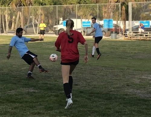 Center soccer