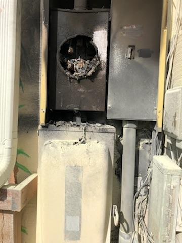 Bridge Tender Electrical Fire
