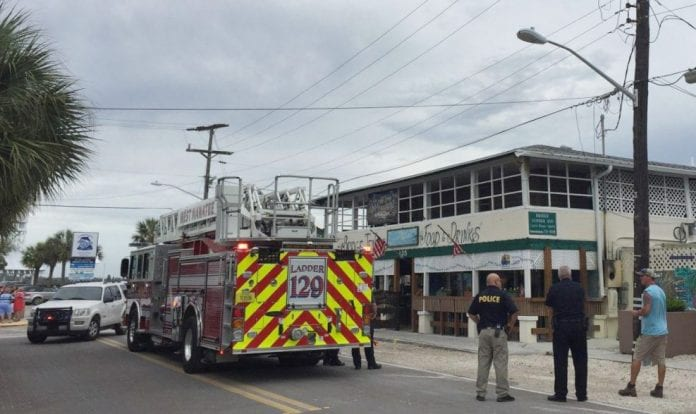 Bridge Tender Inn fire