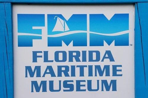 Florida Maritime Museum sign