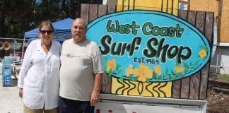 West Coast Surf Shop luau