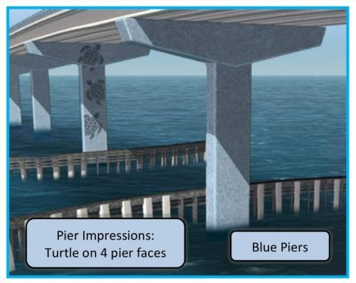 Anna Maria bridge piers