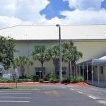 canine Anna Maria Elementary School entrance
