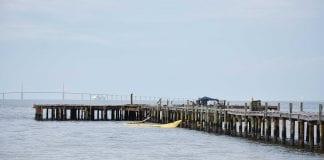 AM Pier building gone