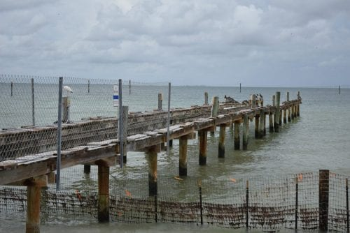 Anna Maria pier demo remaining walkway