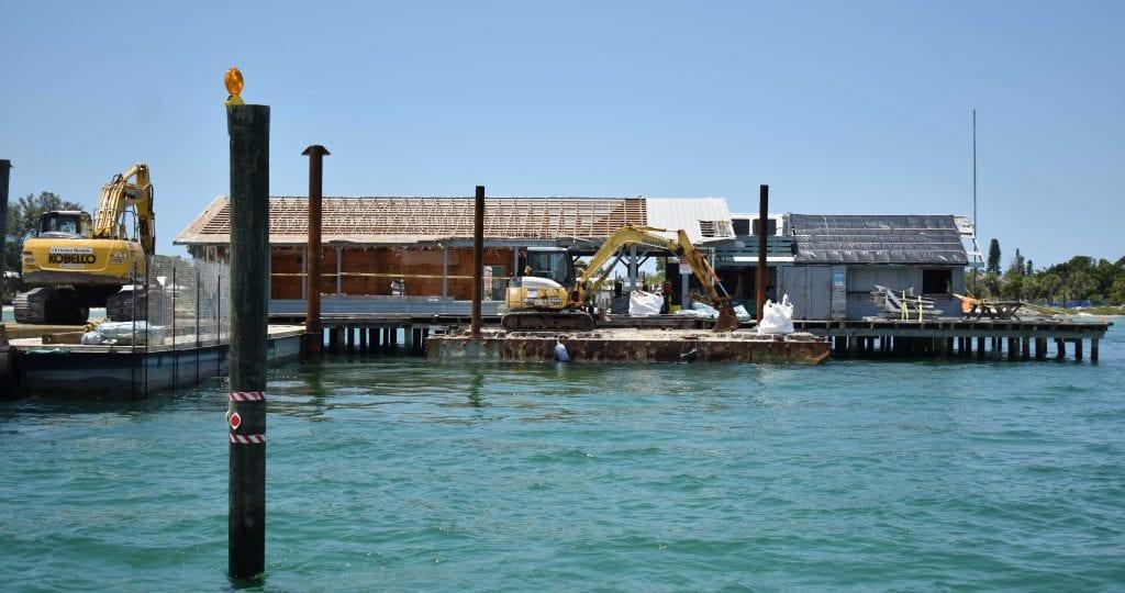 AM Pier Demo Rear