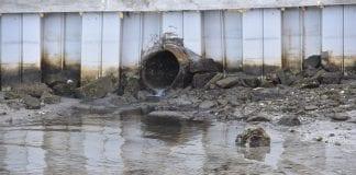 Bradenton Beach stormwater outflow