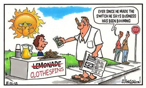 political cartoons anna maria island sun