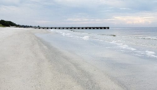 This Stretch Of Beach In Bradenton Looked Good Morning Manatee County Submitted Anna Maria Island