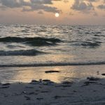 Red Tide Sunset
