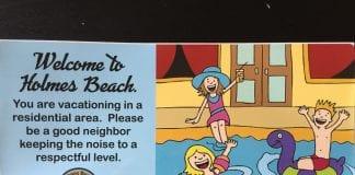 Holmes Beach nuisance pool sticker