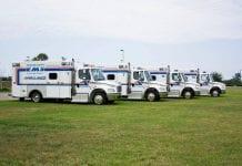 Manatee County EMS ambulance