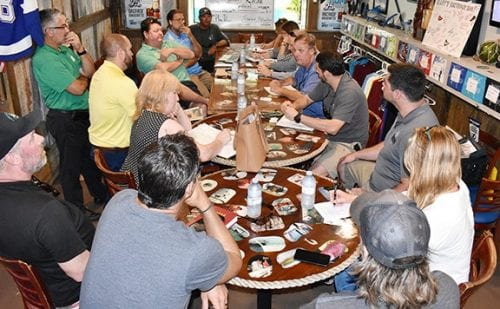 red tide Recovery Meeting