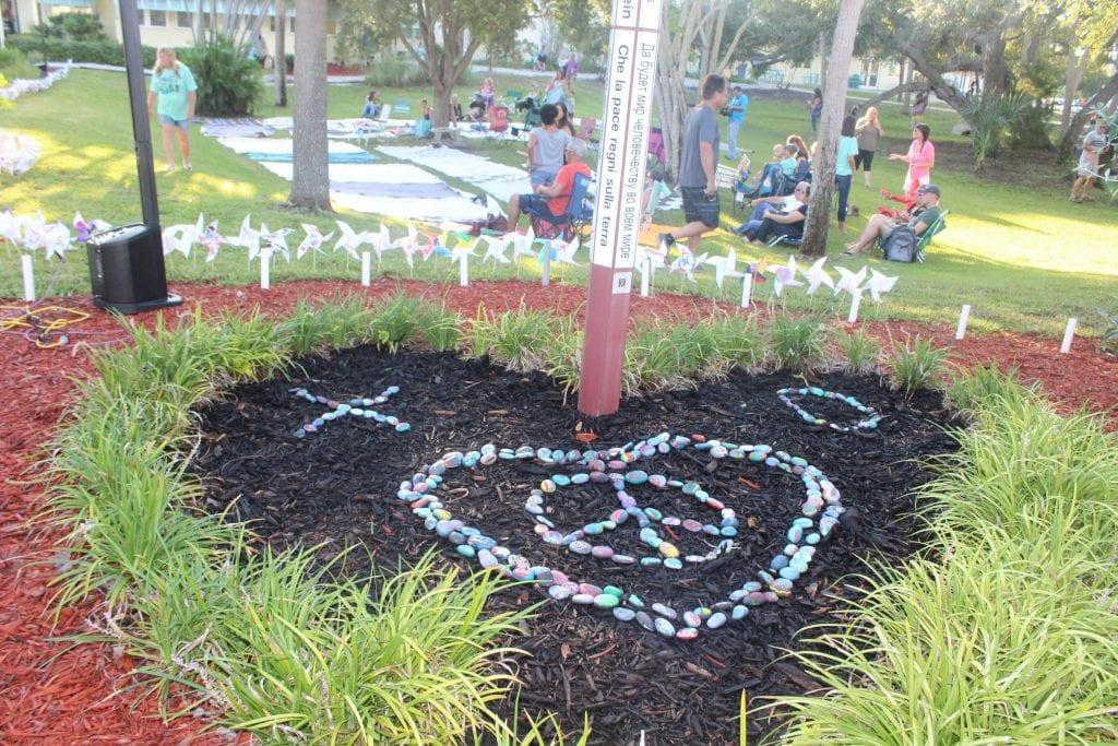 Peace Day garden