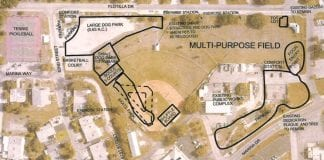 holmes beach city field proposal